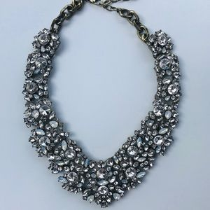 Baublebar Crystal Pointed Statement Necklace NEW